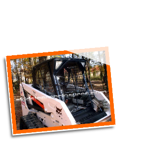 Bobcat 553 F Series (1991-1999) Skidsteer Cab Enclosure