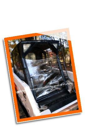 BOBCAT M Series Skid Steer Cab Enclosure DOOR