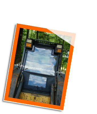 New Holland LX985 Skidsteer Cab Enclosure