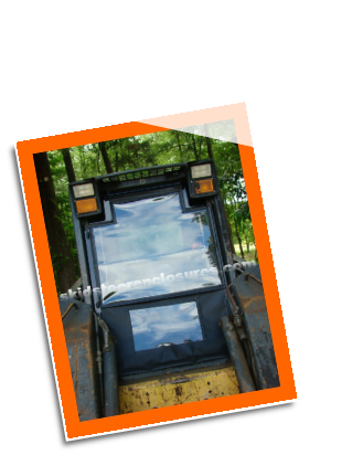 New Holland L120 Skidsteer Cab Enclosure