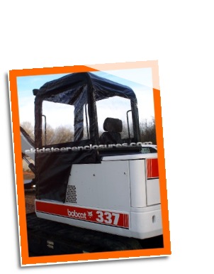 Bobcat 325 M Series Excavator Cab Enclosure
