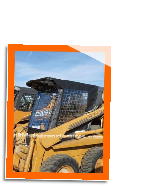 Case 435 Series 3 Skidsteer Cab Enclosure