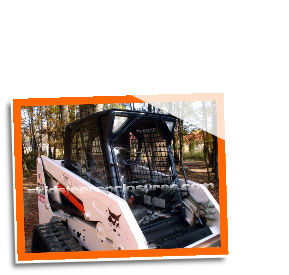 Bobcat 553 G Series (2000 & Newer) Skidsteer Cab Enclosure