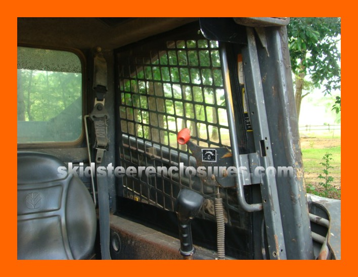 New Holland L140 Mfg Before 2008 Skidsteer Cab Enclosure